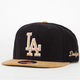 AMERICAN NEEDLE Gold Dust Dodgers Mens Snapback Hat