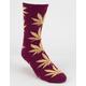 HUF Melange Plantlife Mens Socks