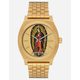 NIXON x Santa Cruz Time Teller Jason Jesse Gold Watch