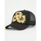 O'NEILL Island Time Sunflower Girls Trucker Hat