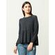 LIRA Viera Womens Peplum Sweater