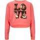 WORKSHOP Love Girls Crop Sweatshirt