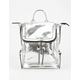 VIOLET RAY Kendall Silver Mini Backpack