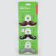 KIKKERLAND Mustache Bag Clips