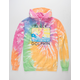 PINK DOLPHIN Blossom Portrait Mens Hoodie
