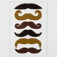 KIKKERLAND Mustache Magnets