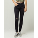 SKY AND SPARROW Ripped Womens Skinny Jeans