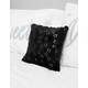 Black Star Sequin Pillow