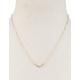 FULL TILT Dainty Diamond V Necklace