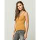 BOZZOLO Criss Cross Back Womens Ribbed Tank