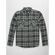 SHOUTHOUSE Concrete Mens Flannel Shirt