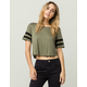 BOZZOLO Sporty Womens Crop Tee