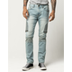 RSQ London Moto Mens Skinny Jeans