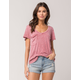OTHERS FOLLOW Washed Womens Pocket Tee