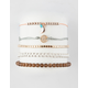 FULL TILT 5 Pack Moon & Beads Bracelets