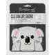Clean Up, Skin! Koala Face Mask