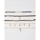 FULL TILT 5 Pack Star & Moon Charm Bracelet Set