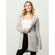 WOVEN HEART Looped Chenille Womens Cardigan