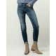 SKY AND SPARROW Clean Womens Skinny Jeans