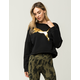 PUMA Rebel Womens Crop Sweatshirt