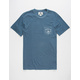 VISSLA Brainpan Mens Pocket Tee