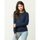 SKY AND SPARROW Fuzzy Womens Sweater