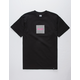HUF Optical Wave Logo Mens T-Shirt