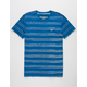 RVCA Warped Stripe Mens T-Shirt
