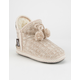 MUK LUKS Amira Girls Slippers