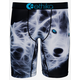 ETHIKA Cry Wolf Staple Mens Boxer Briefs