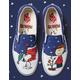 VANS x PEANUTS Christmas Classic Slip-On Shoes