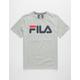 FILA Classic Logo Heather Boys T-Shirt