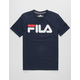 FILA Classic Logo Navy Boys T-Shirt