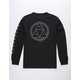 HUF Blackout Triangle Mens T-Shirt