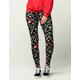 JUST ONE Candy Cane Womens Leggings