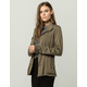 SKY AND SPARROW Rayon Womens Anorak Jacket