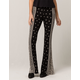 SKY AND SPARROW Floral Womens Flare Pants