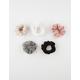 FULL TILT 5 Pack Microsuede Scrunchies