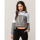 FULL TILT Colorblock Womens Crop Hoodie