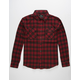 SHOUTHOUSE The Mike Mens Flannel Shirt