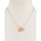 FULL TILT Diamond & Heart Love Necklace