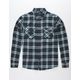 SHOUTHOUSE Midtown Mens Flannel Shirt