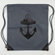 CASUAL INDUSTREES Anchor Cinch Sack