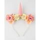 Flower Unicorn Headband