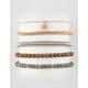 FULL TILT 5 Pack Braid & Bead Bracelets