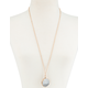 FULL TILT Marble Circle Necklace