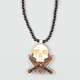 GOODWOOD NYC Combat Skull Necklace