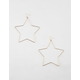 FULL TILT Star Hoop Earrings
