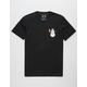 RIOT SOCIETY Thug Life Snowman Mens T-Shirt