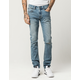 RSQ London Mens Skinny Ripped Jeans